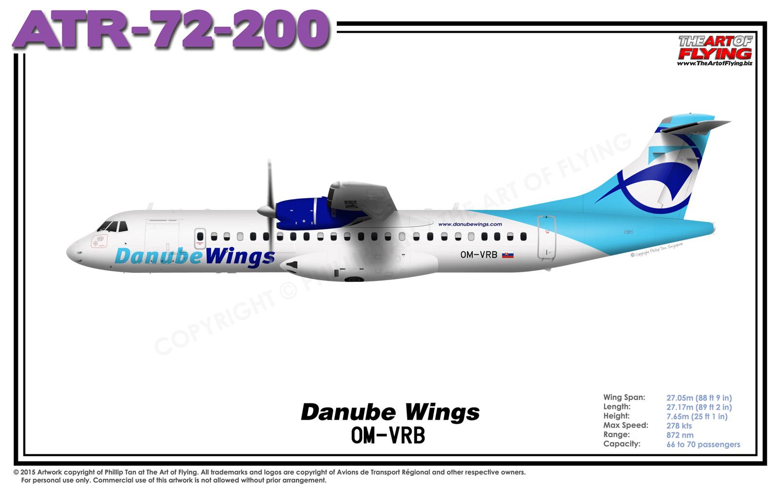 Danube wings logo
